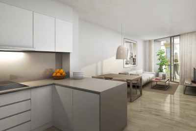 New apartments in the more exclusive district of Barcelona